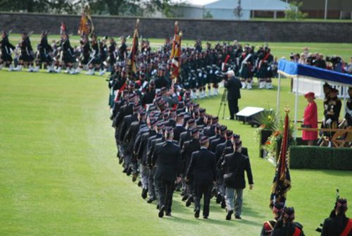 Presentation Of Colours Parade 38
