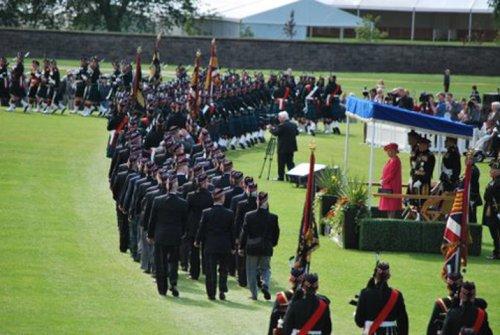 Presentation Of Colours Parade 39