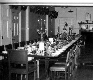 1st Battalion The Royal Scots Officers Mess Table (Tidworth 1966)